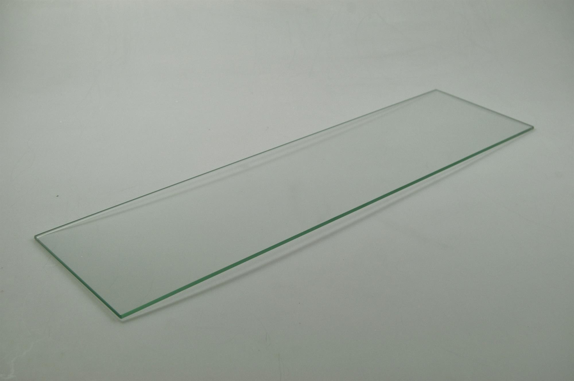 Glas for udtræk, Exhausto emhætte - 4 mm x 540 mm x 145 mm