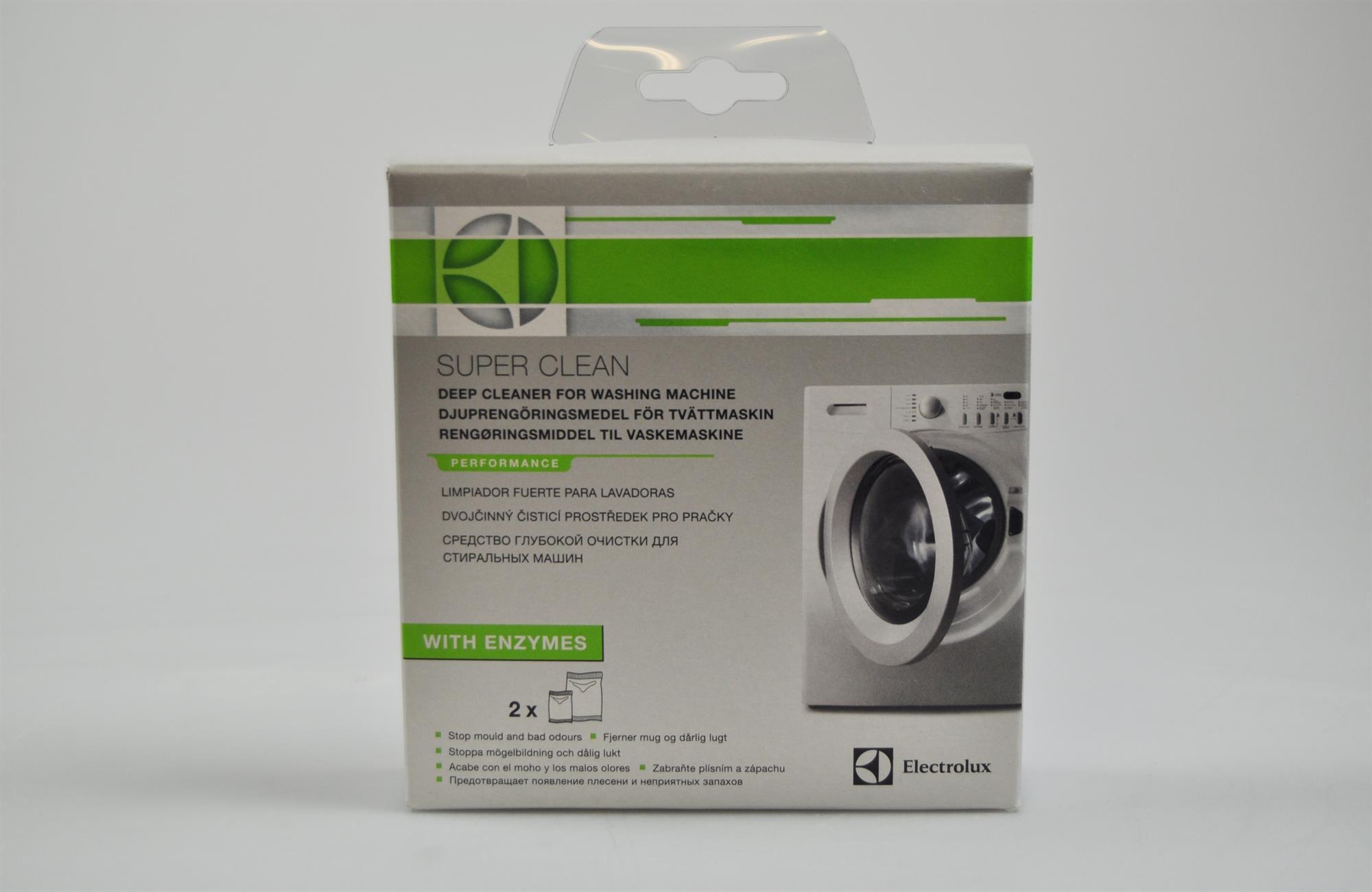 Fjern den dårlige lugt i vaskemaskinen, Universal vaskemaskine